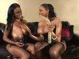 Black Busty Lesbians Screw